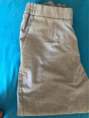 Pull & Bear Pantalon 3/4 gris