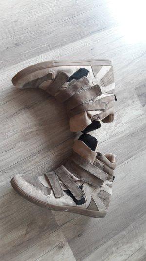 Pull and Bear Sneaker Wedgesneaker Wedges Wildleder Keilabsatz 41