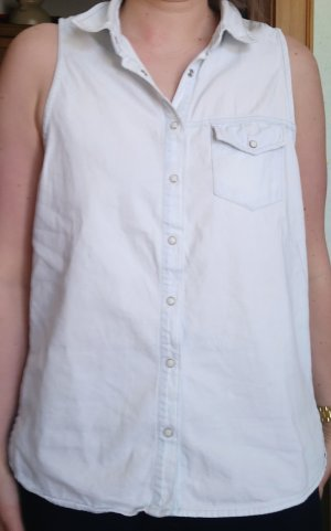 Pull and Bear, sommerliches jeans hemd, wie neu, kaum getragen, L