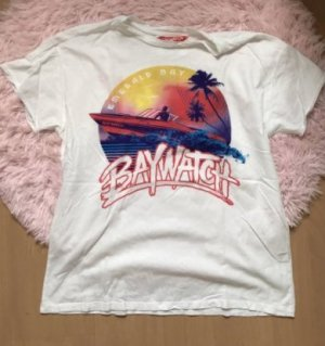 Pull&Bear Baywatch Shirt Retro Kult Cult M