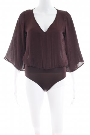 Pull & Bear Bodyblouse bordeaux elegant