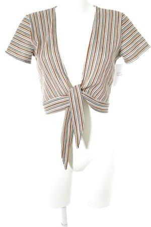 Pull & Bear Bolero striped pattern casual look