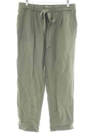Pull & Bear Cargobroek groen-grijs casual uitstraling
