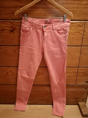 Pull&Bear Coral rot 38 Stretch Skinny