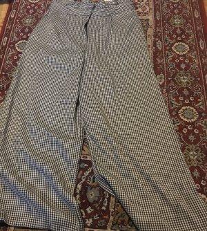 Pull & Bear Pantalone culotte bianco-nero