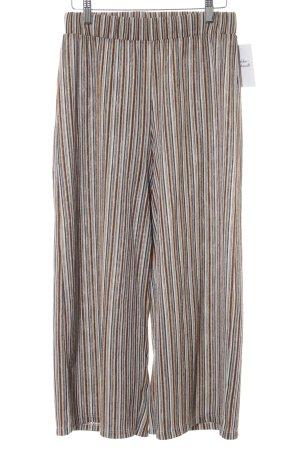 Pull & Bear Pantalone culotte motivo a righe stile da moda di strada