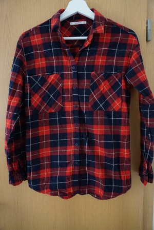 Pull & Bear Lumberjack Shirt multicolored