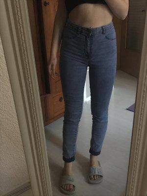 Pull & Bear High Waist Jeans