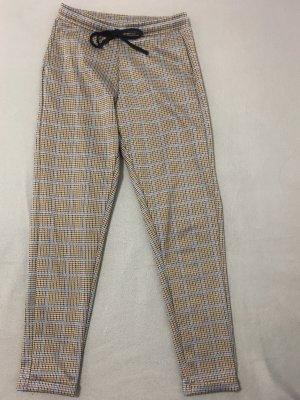 Pull & Bear Pantalón tobillero marrón grisáceo-azul