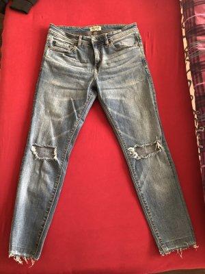 Pull & Bear Hoge taille jeans blauw-lichtblauw