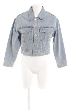 Pull & Bear Jeansjacke himmelblau 90ies-Stil
