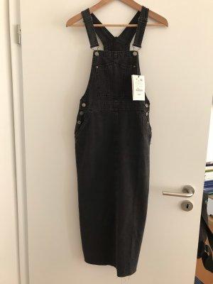 Pull & Bear Denim Dress black