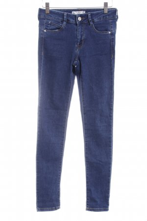 Pull & Bear Jeggings blu stile casual
