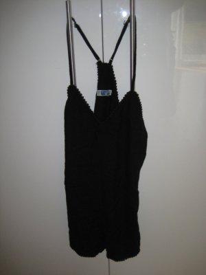 Pull&Bear Jumpsuit schwarz