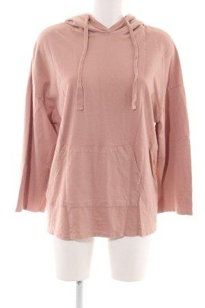 Pull & Bear Kapuzenpullover pink Casual-Look