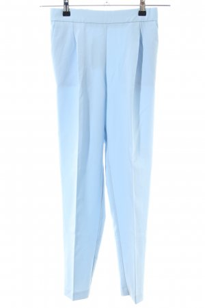 Pull & Bear Peg Top Trousers blue business style