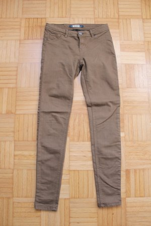 pull&bear khaki Skinny Jeans