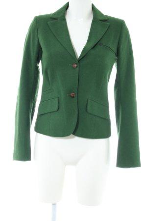 Pull & Bear Kurz-Blazer grün Business-Look