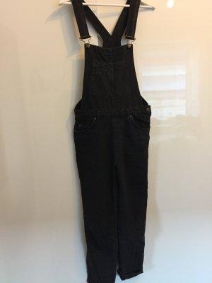 Pull & Bear Overall donkergrijs-zwart