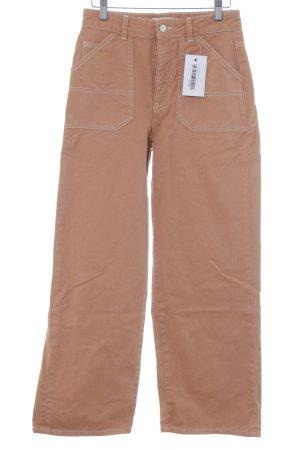 Pull & Bear Marlene jeans donker oranje casual uitstraling