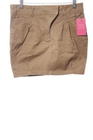 Pull & Bear Minirock braun Casual-Look