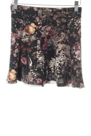 Pull & Bear Minirock Blumenmuster Casual-Look