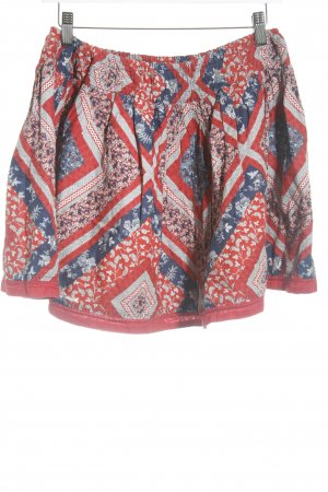 Pull & Bear Minirock florales Muster Gypsy-Look