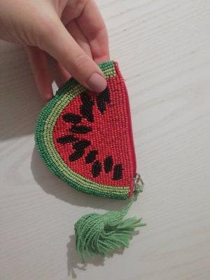 Pull&Bear Portemonnaie Minitasche Purse Börse Melone