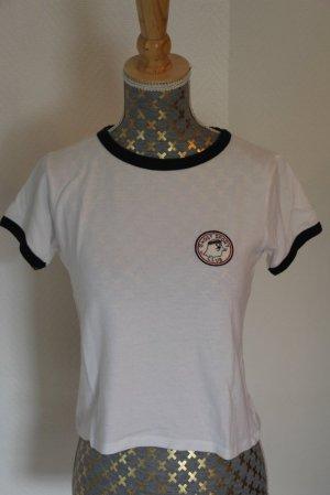 Pull & Bear Camiseta blanco puro