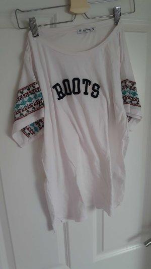 Pull & Bear Camisa blanco