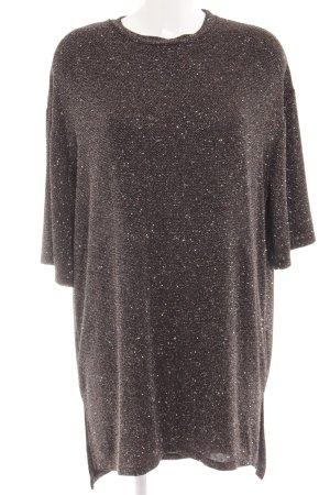 Pull & Bear Shirtkleid mehrfarbig Glitzer-Optik