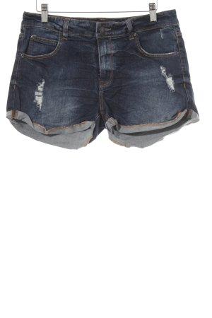 Pull & Bear Shorts blau Beach-Look