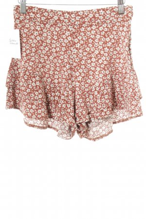 Pull & Bear Shorts flower pattern romantic style