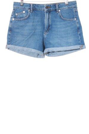Pull & Bear Shorts kornblumenblau Casual-Look