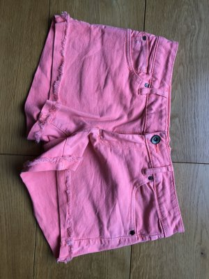 Pull & Bear Shorts neonpink