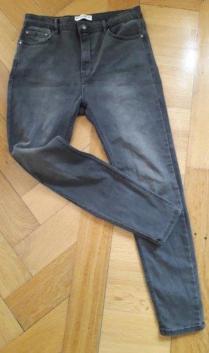 Pull & Bear Jeans skinny gris