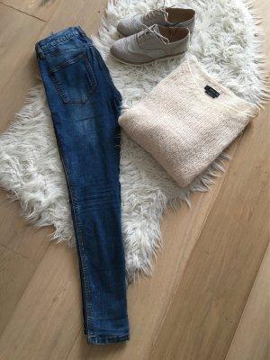 Pull & Bear Skinny Jeans Röhrenjeans Jeggings Gr. 38 High Waist