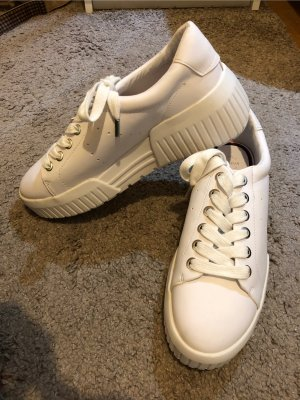 Pull & Bear Heel Sneakers white-natural white