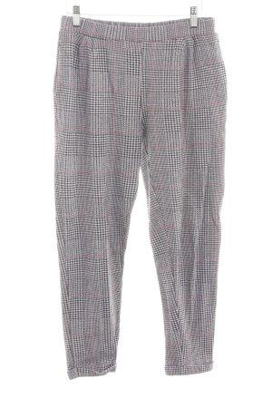 Pull & Bear Pantalon strech motif à carreaux style décontracté