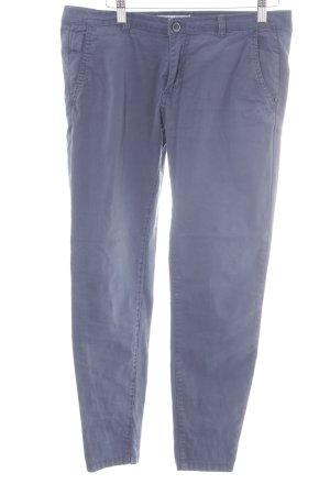 Pull & Bear Stretchhose graublau