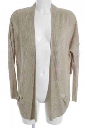 Pull & Bear Strick Cardigan beige Casual-Look