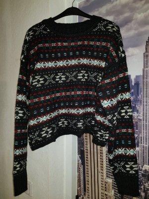 Pull & Bear Maglione lavorato a maglia multicolore Acrilico