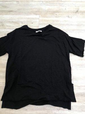 Pull & Bear Camisa holgada negro