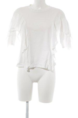 Pull & Bear T-Shirt wollweiß Casual-Look