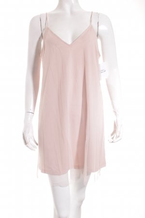 Pull & Bear Tanktop creme-rosé Street-Fashion-Look