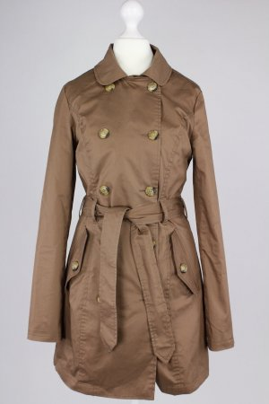 Pull&Bear Trenchcoat braun Größe S 1712150490497