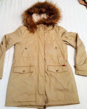 Pull & Bear Manteau d'hiver chameau