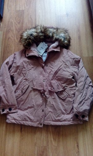 Pull&Bear Zara Damen Jacke Parka Mantel Gr. M Neu