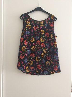 Pullandbear Flower Shirt