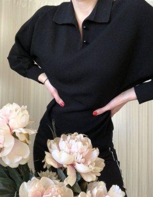 Wool Sweater black wool
